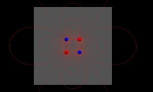 欧拉折线法绘制电场线动画